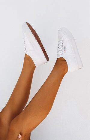 Superga 2730 COTU Canvas Sneaker White
