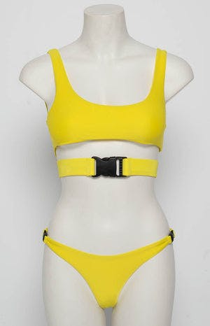9.0 Swim Andros Bikini Set Fluro Yellow
