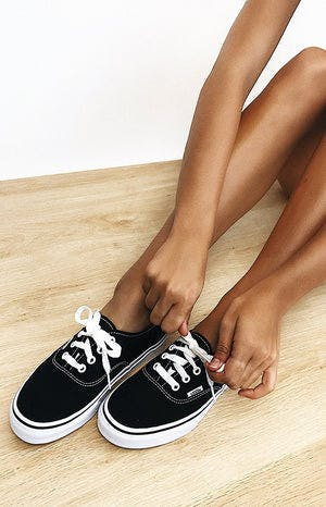 Vans Authentic Sneaker Black & White
