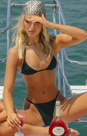 9.0 Swim Duke Bikini Bottoms Black