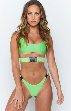 9.0 Swim Andros Bikini Set Lime Green