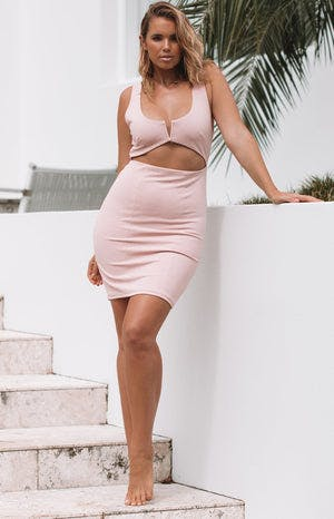 Beau Dress Blush