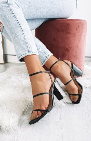 Billini Heron Heels Black