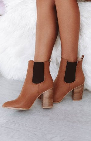 Billini Jaida Boots Tan Tumble