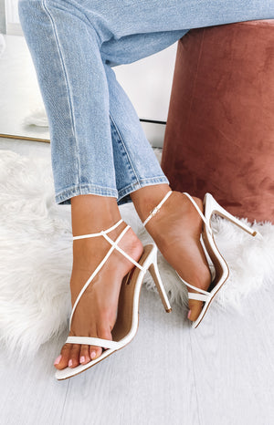 Billini Tawnie Heels White