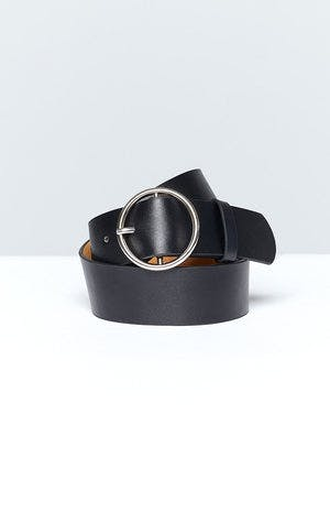 Eclat Locked In Belt Silver