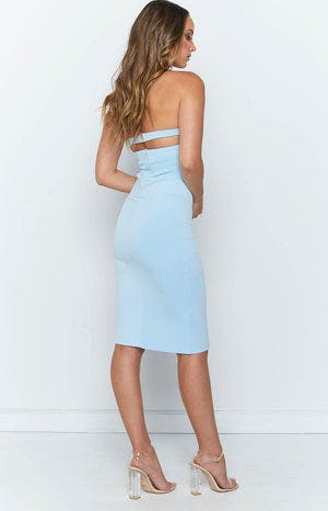 Giselle Dress Baby Blue