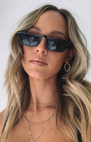 Eclat Rouge Sunglasses Black (FREE Over $200)