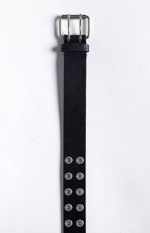 Eclat Times Up Belt Black Silver