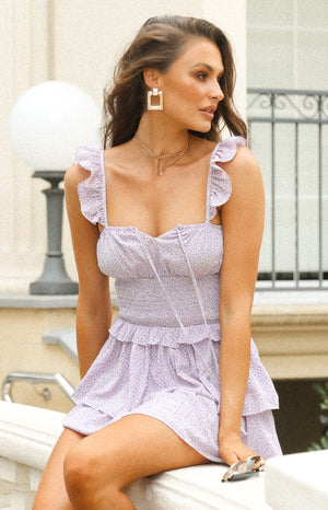 Love In Vain Dress Lilac Floral