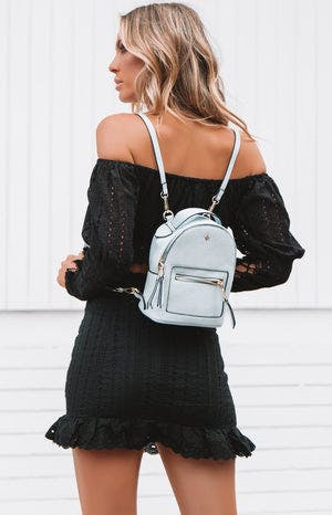 Peta & Jain Zoe Mini Back Pack Pastel Blue