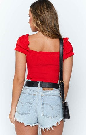 Pollyanna Top Red