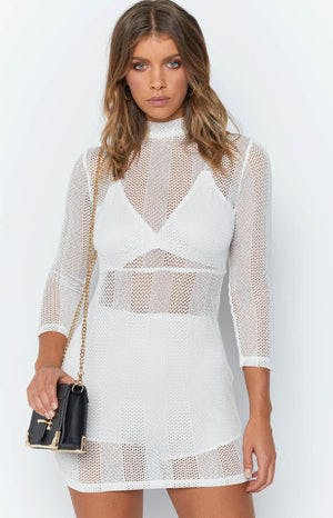 St Tropez Dress White