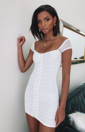 https://files.beginningboutique.com.au/Strange+Obsession+Lace+up+Mesh+Mini+Dress%3A.mp4