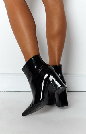 Therapy Alloy Boots Black
