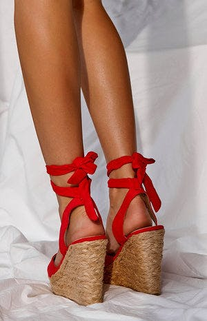 Billini Skyros Wedge Red
