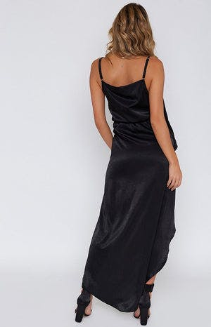 Violette Formal Dress Black