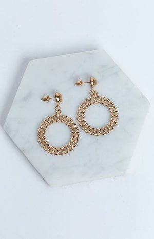 Eclat Love at First Sight Earrings Gold