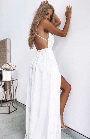 Estelle Maxi Dress White