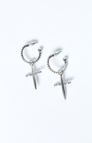 Eclat Count Your Blessings Earrings Silver