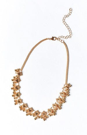 Eclat Calile Choker Necklace Gold