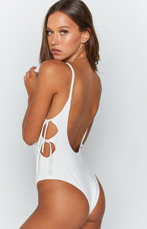 Zora Bodysuit White